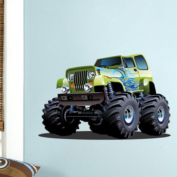 Kinderzimmer Wandtattoo: Monster Truck 6