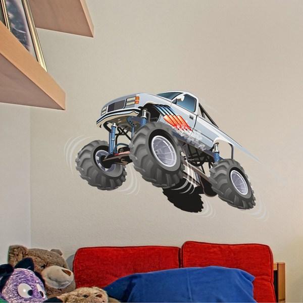 Kinderzimmer Wandtattoo: Monster Truck 7