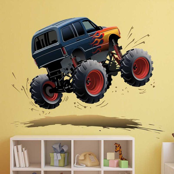 Kinderzimmer Wandtattoo: Monster Truck 11