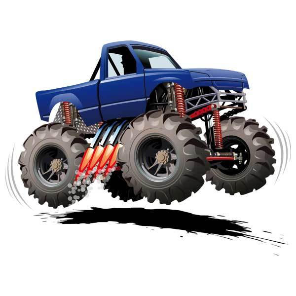 Kinderzimmer Wandtattoo: Monster Truck 8