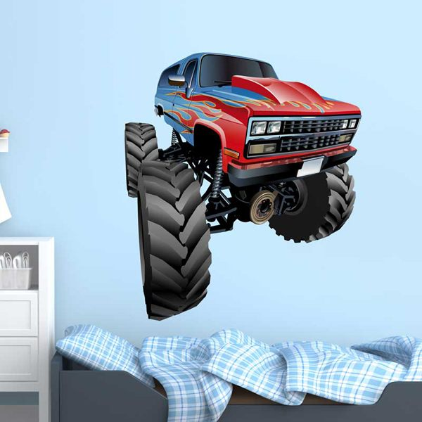 Kinderzimmer Wandtattoo: Monster Truck 9 1
