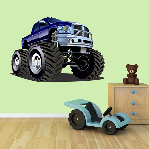 Kinderzimmer Wandtattoo: Monster Truck 13 1