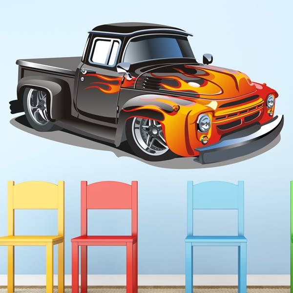 Kinderzimmer Wandtattoo: Benutzerdefinierte PickUp 2