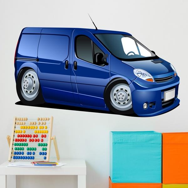 Kinderzimmer Wandtattoo: Blau van