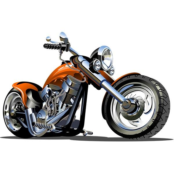 Kinderzimmer Wandtattoo: Moto Harley 2