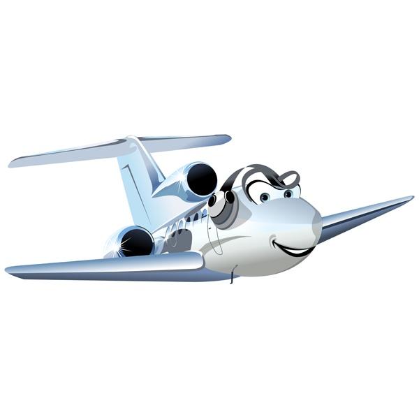 Kinderzimmer Wandtattoo: Ultraleichtflugzeug