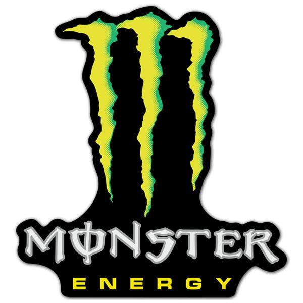 Aufkleber: Monster 2