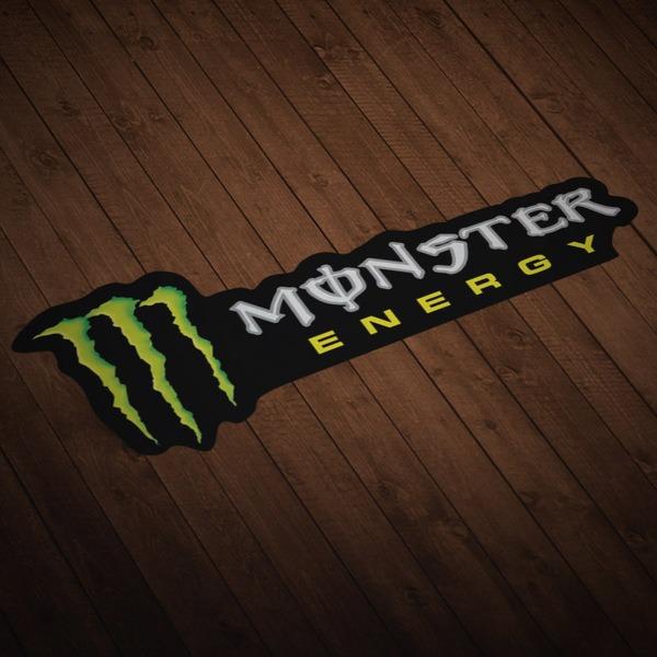 Aufkleber: Monster