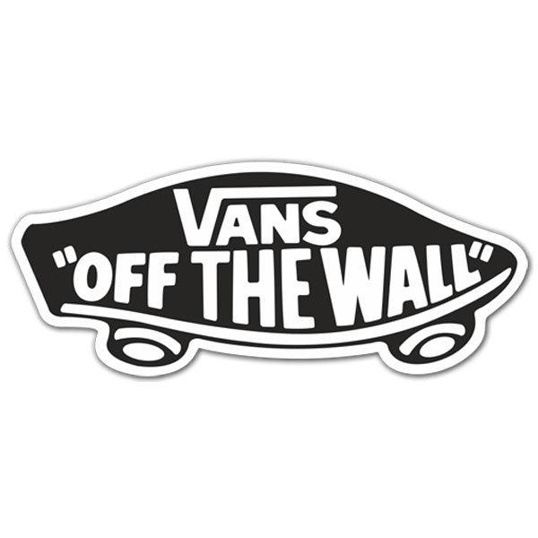 Aufkleber: Vans off the wall 3