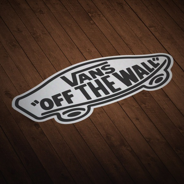 Aufkleber: Vans off the wall 5