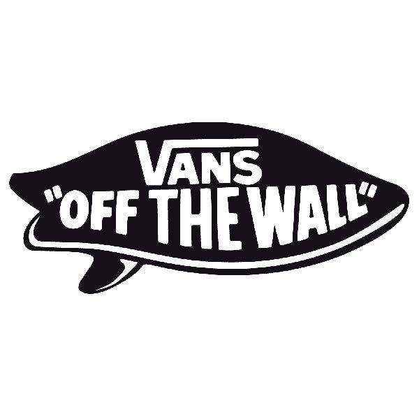 Aufkleber: Vans off the wall 8
