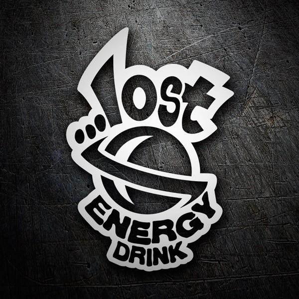 Aufkleber: Lost Energy Drink 2
