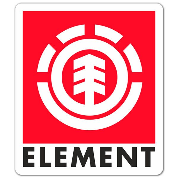 Aufkleber: Element
