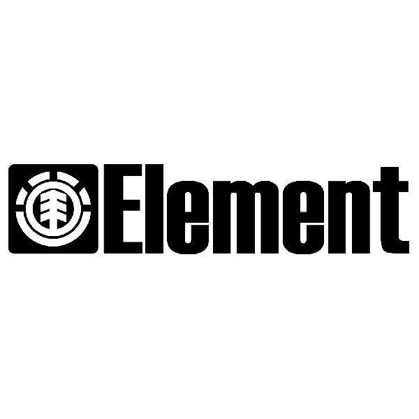 Aufkleber: Element 8