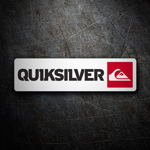Aufkleber: Quiksilver 2