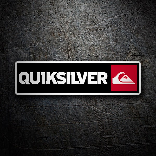 Aufkleber: Quiksilver 3