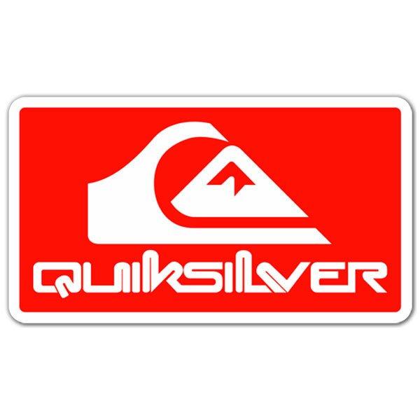 Aufkleber: Quiksilver 4