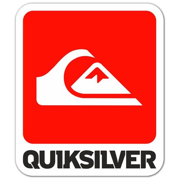 Aufkleber: Quiksilver 5