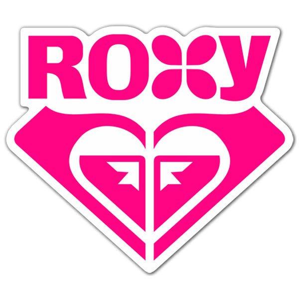 Aufkleber: Roxy 1