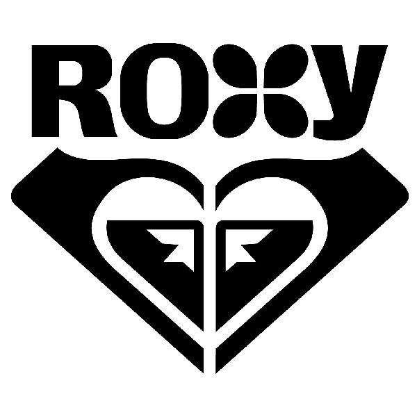Aufkleber: Roxy 4