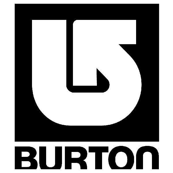Aufkleber: Burton 4