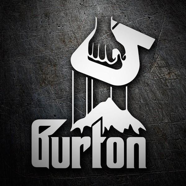 Aufkleber: Burton Godfather