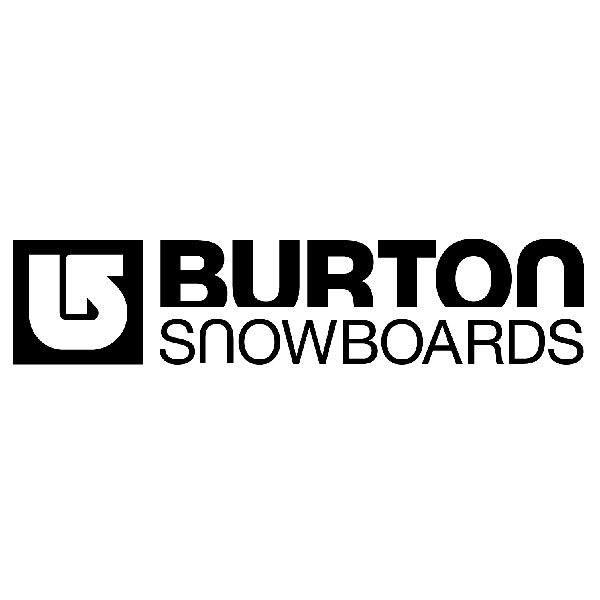 Aufkleber: Burton Snowboards