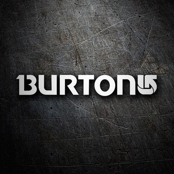 Aufkleber: Burton 7