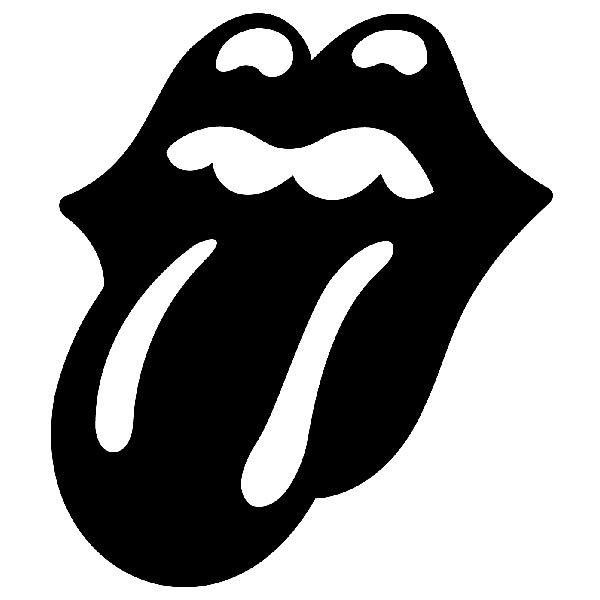 Aufkleber: The Rolling Stones