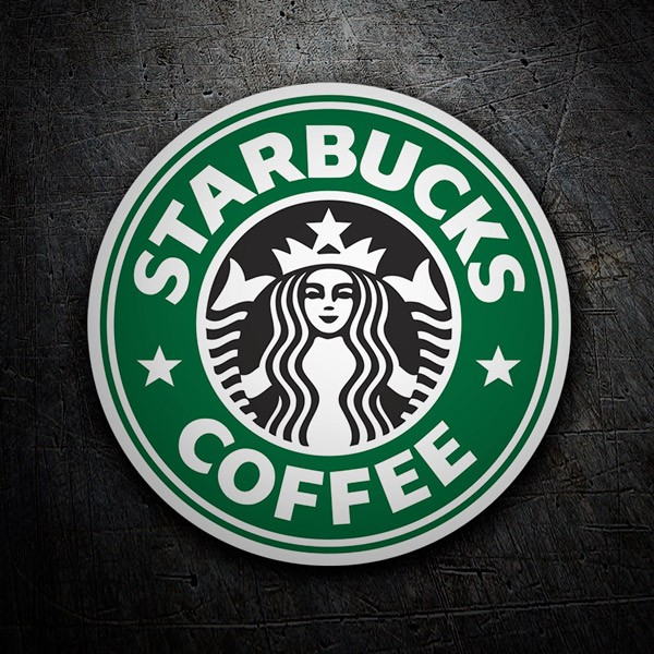 Aufkleber: Starbucks Coffee 1