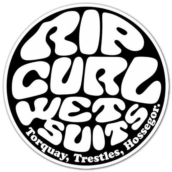 Aufkleber: Rip Curl Wet Suits 1