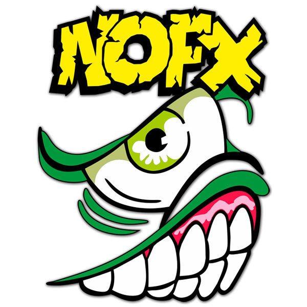 Aufkleber: Nofx