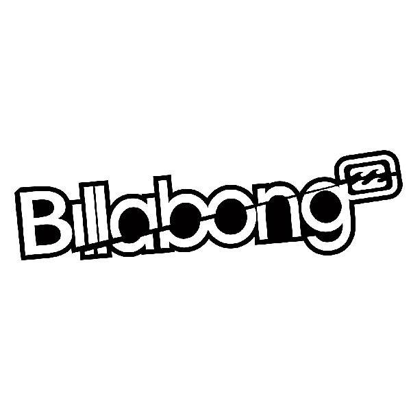 Aufkleber: Billabong 6