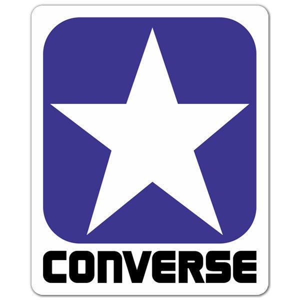 Aufkleber: Converse 3