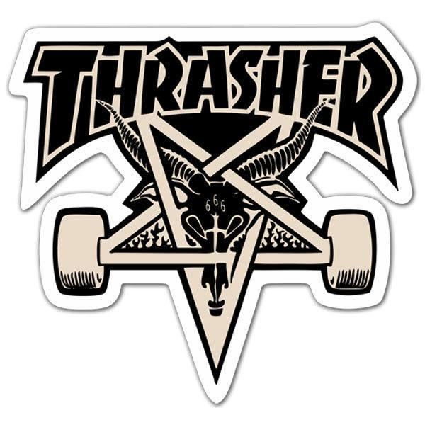 Aufkleber: Thrasher Skate