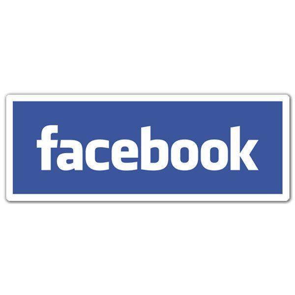 Aufkleber: Facebook