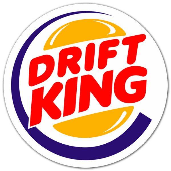 Aufkleber: Drift King