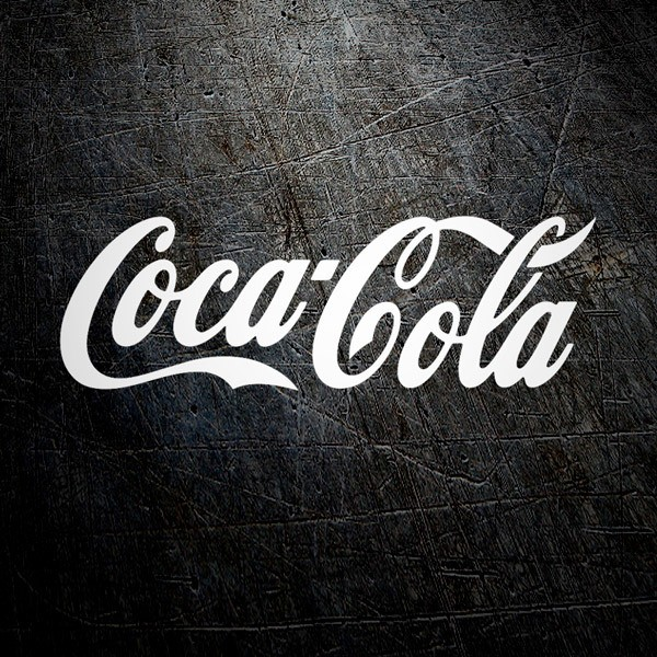 Aufkleber: Coca Cola