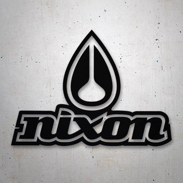 Aufkleber: Nixon 3