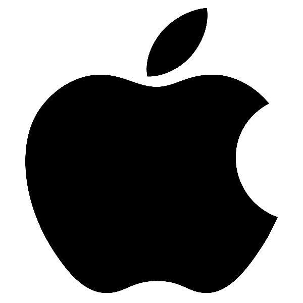 Aufkleber: Apple Logo