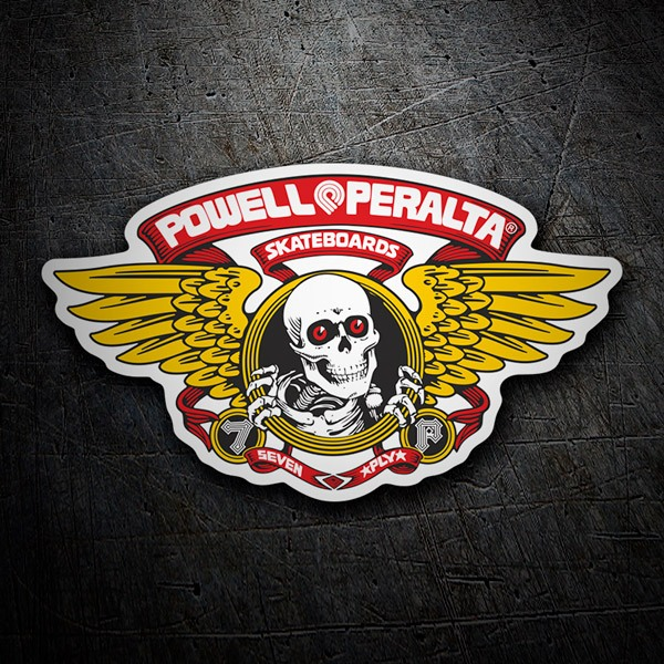Aufkleber: Powell Peralta Skateboards