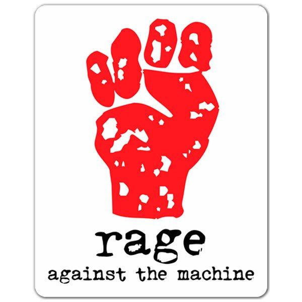 Aufkleber: Rage