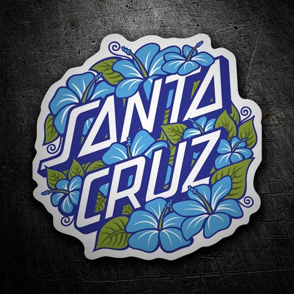 Aufkleber: Santa Cruz