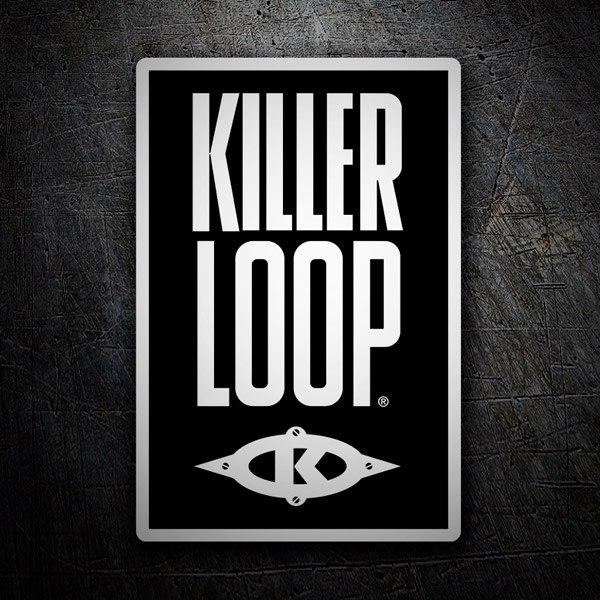 Aufkleber: Killer Loop 2