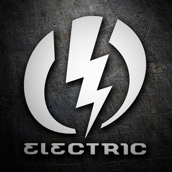 Aufkleber: Electric