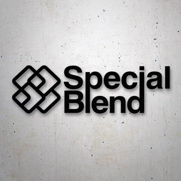 Aufkleber: Special Blend