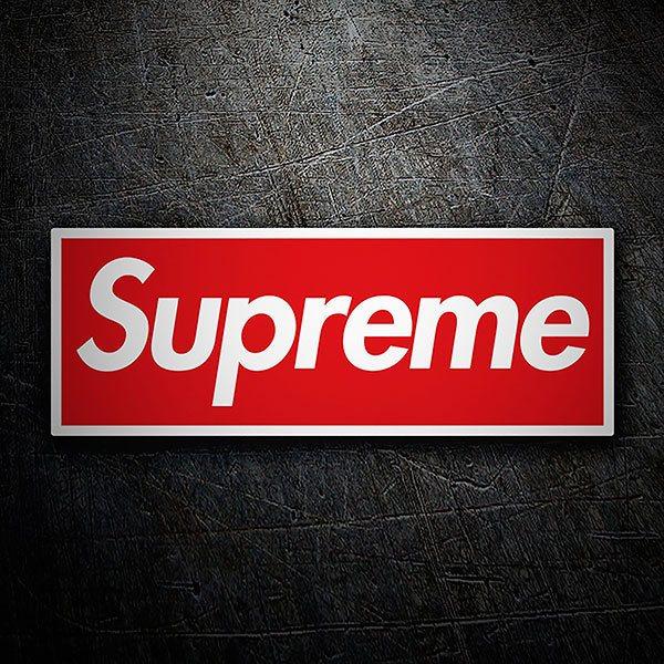 Aufkleber: Supreme