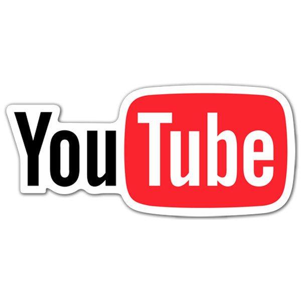 Aufkleber: YouTube