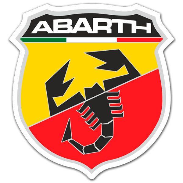Aufkleber: Abarth