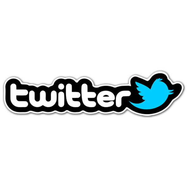 Aufkleber: Twitter